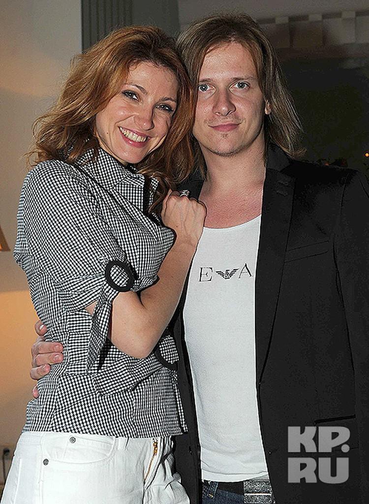 Анастасия Макеева с супругом Глебом