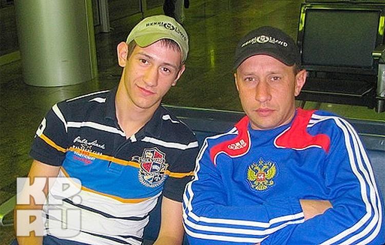 Андрей с отцом. Фото из семейного архива УРЮПИНЫХ