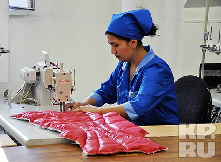 Сегодня продукция предприятия пользуется спросом и в России, и за рубежом.