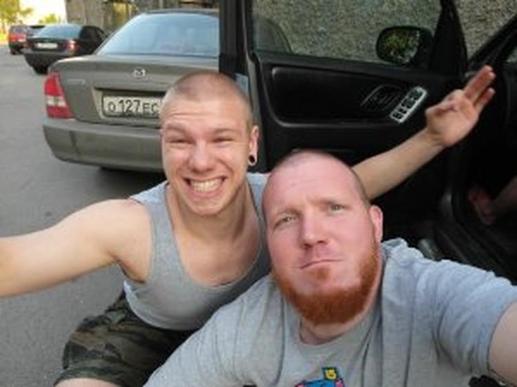 У Андрея (справа) ранения оказались очень серьезными - несколько пуль попали в голову и грудь