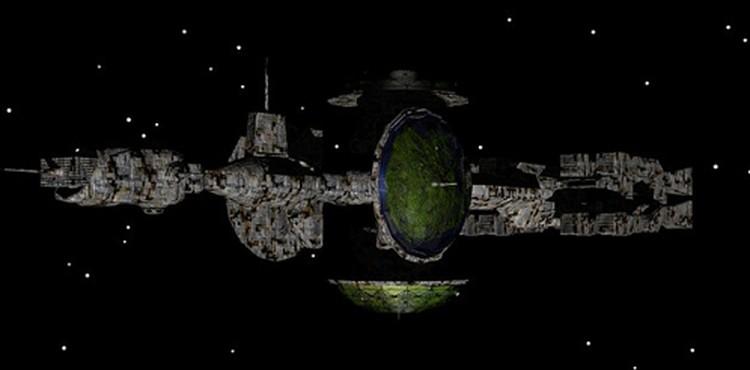 """Знатоки уверяют, что """"корабль инопланетян"""" чем-то похож на наши - те, которые бороздят просторы Вселенной в фантастических фильмах"""