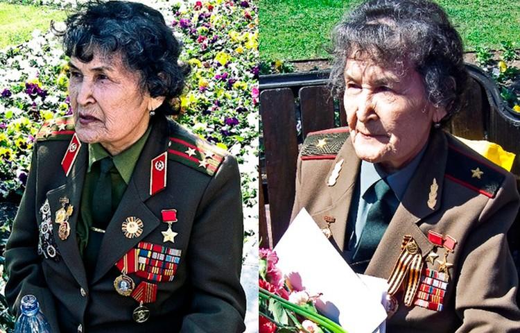 В 2010 году бабушка носила погоны полковника. А в 2011-м уже облачилась в генеральский китель.