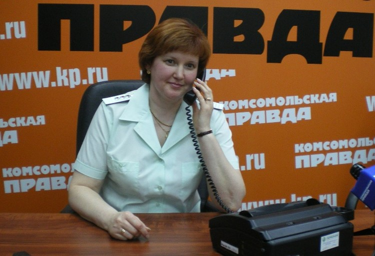 Заместитель руководителя УФНС России по Пермскому краю Любовь Батуева.