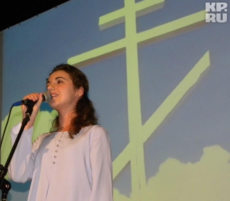 """Ангел песни """"Звонарь"""" - 14-летняя Елене Гвритишвили"""