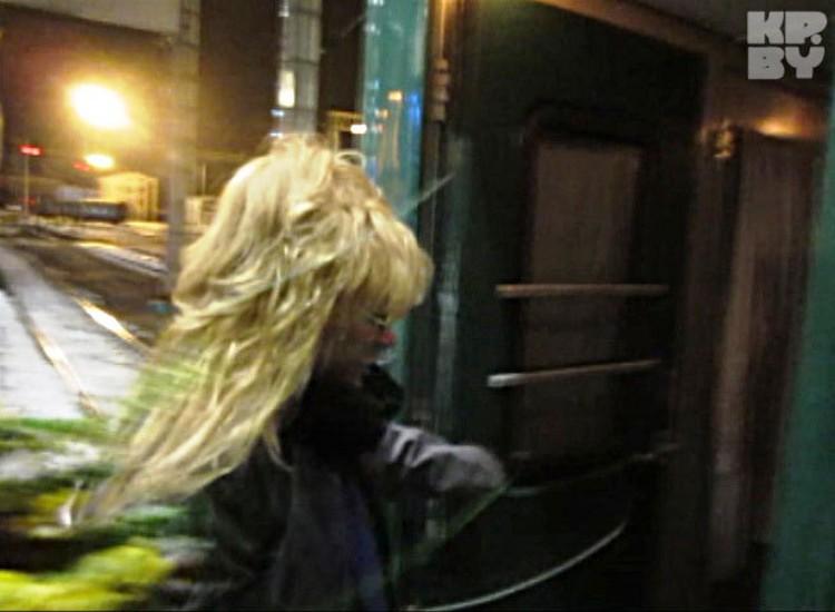 В белорусскую столицу Примадонна регулярно катается на своем фирменном вагоне