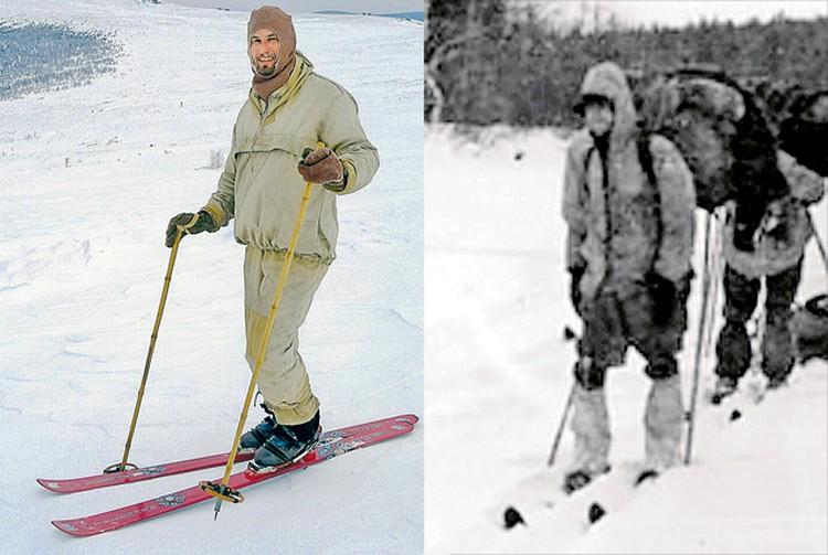 Для участников нашего похода (фото слева) мы подбирали туристскую одежду, такую же, что была у группы Дятлова. Мы благодарим читателей «КП» за неоценимую помощь в сборе вещей той эпохи.
