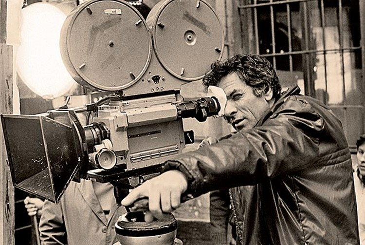 Петр Тодоровский на съемках фильма «Последняя жертва», киностудия «Мосфильм». 1975 год.