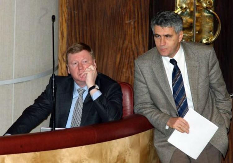 Анатолий Чубайс и Леонид Гозман были неразлучны, сначала приватизируя страну, потом - реформируя РАО «ЕЭС», а теперь - осваивая нанотехнологии.