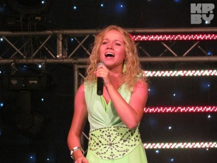 Солистка «Хвілінкі» Екатерина Шумская в Македонии стала лучшей вокалисткой...
