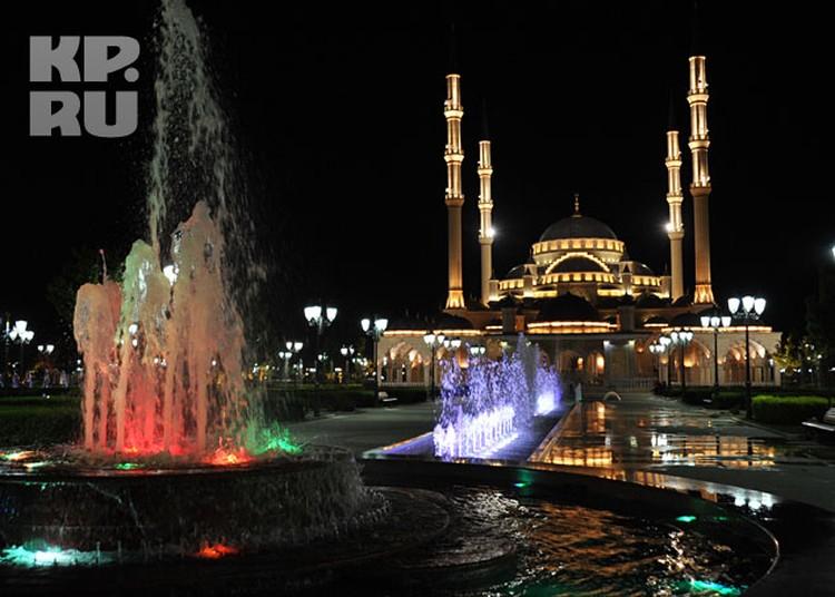 Мечеть имени Ахмата Кадырова «Сердце Чечни» расположилась на восьмом месте
