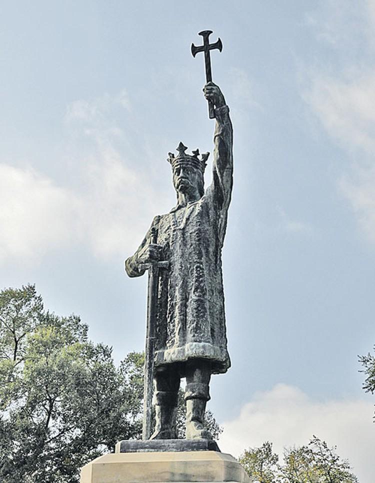 Кишиневский памятник Штефану чел Маре - великому господарю и основателю Молдовы.