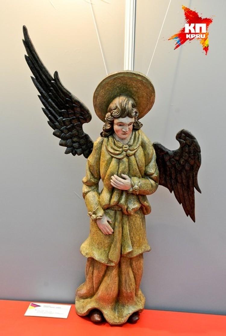 Пермская деревянная скульптура из коллекции художественной галереи.