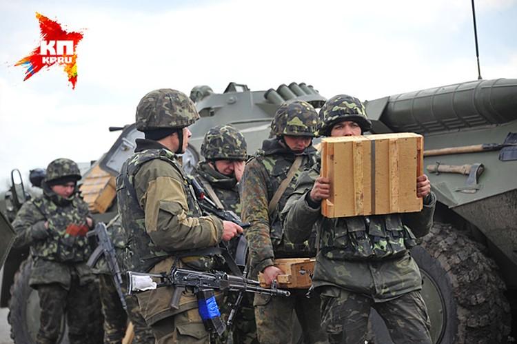 Киев пытается силой усмирить восток Украины