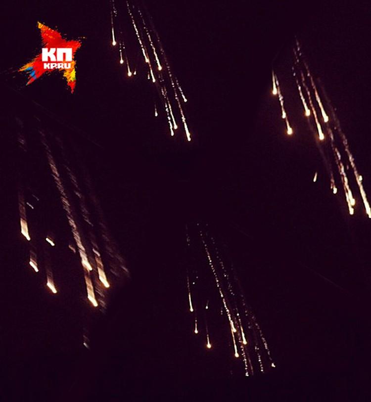 Украина применила фосфорные боеприпасы