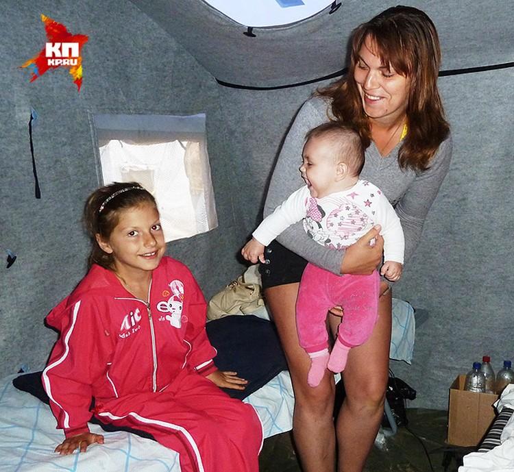 Шахтер Людмила со своими дочками поедут в Иркутск.