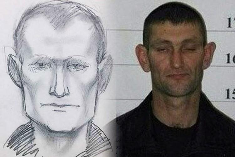 Фоторобот и снимок одного из задержанных.