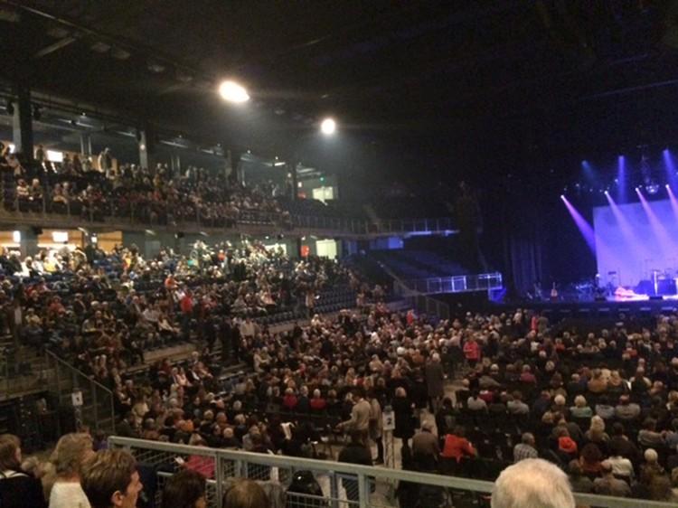Прощальный концерт Шарля Азнавура в Антверпене.
