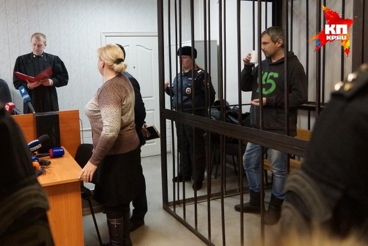 Судья зачитывает оправдательный приговор Дмитрию Лошагину