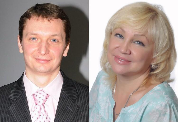 …а поклонница Ирина - Алексея. Он вырос очень похожим на маму.