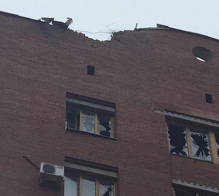Донецк вновь подвергся ракетному обстрелу. ФОТО: Фейсбук ИВАНА ПРИХОДЬКО