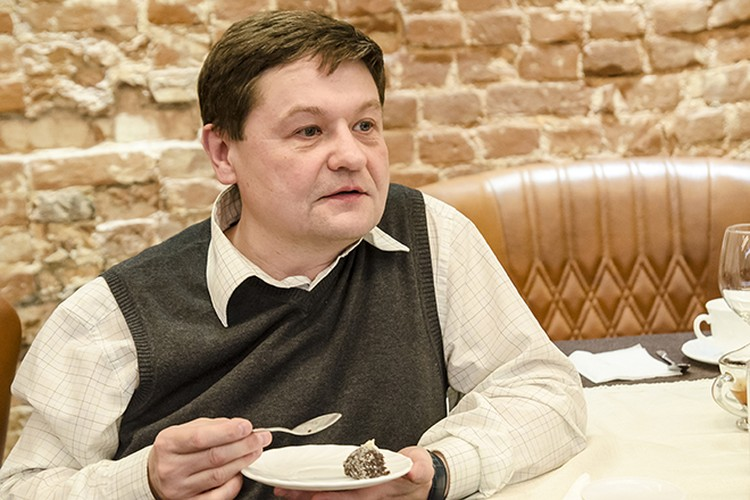 Исполнительный директор музейно-выставочного центра «На Спасской» Сергей Пчелинцев.