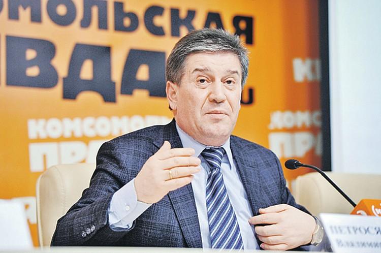 Руководитель Департамента социальной защиты населения Москвы Владимир Петросян.