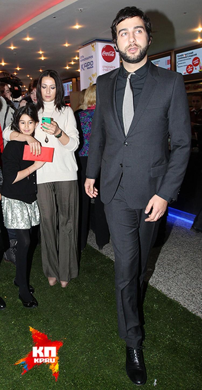 Иван Ургант с женой и дочерью Эрикой