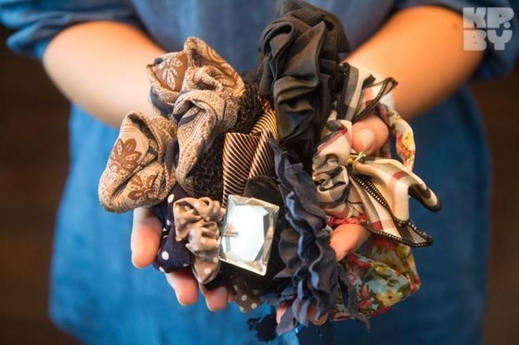 Это - третья часть резинок для волос Светланы Боровской.