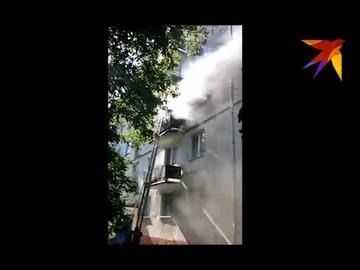 Пожар в Днестровске в квартире жилого дома на третьем этаже.