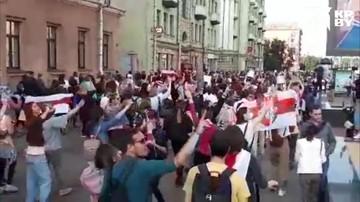 Женский марш прошел в Минске 12 сентября