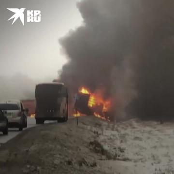 «Огненное» ДТП с бензовозом во Владимирской области