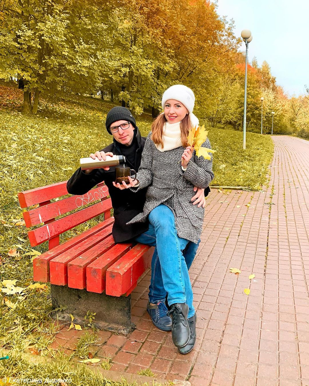 Екатерина Диденко и ее муж Валентин
