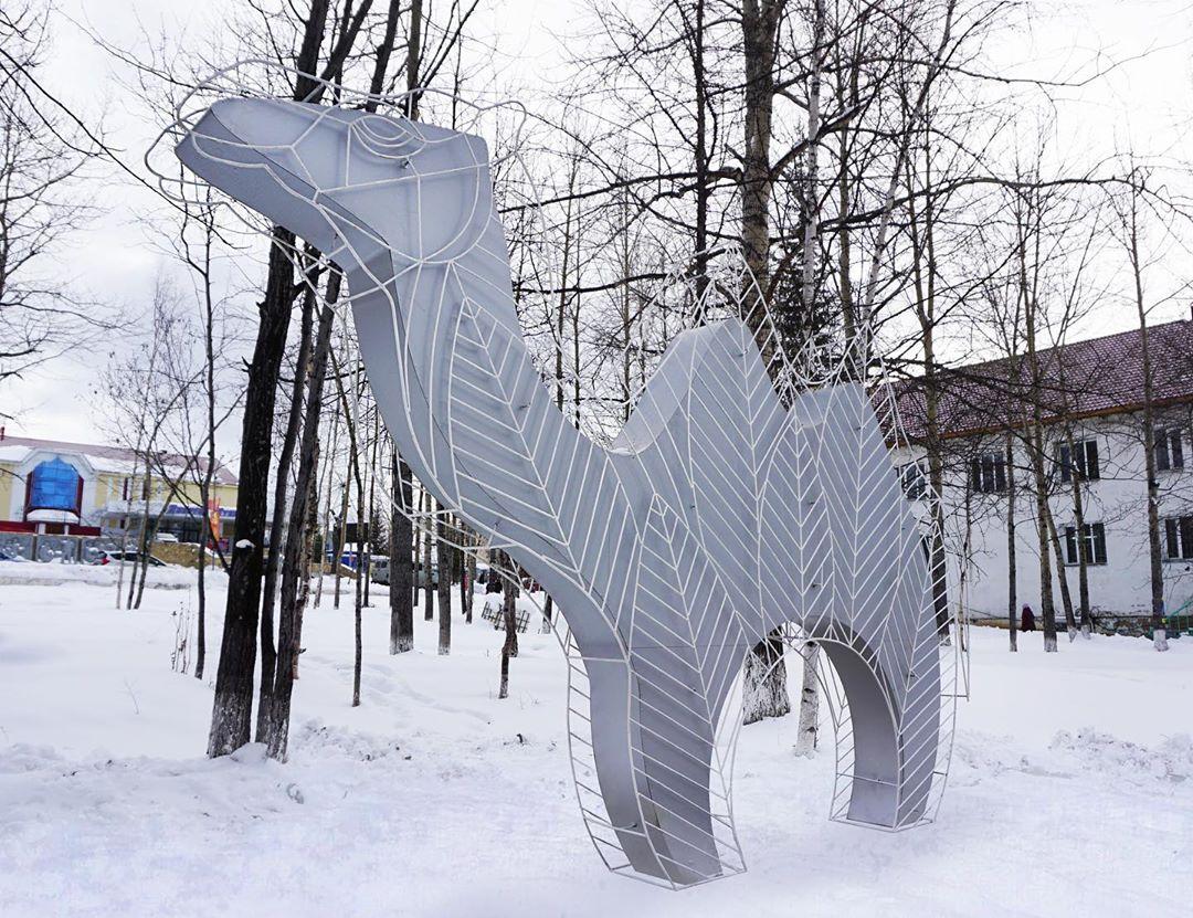 Верблюжонок, художник Анафасий Захаров