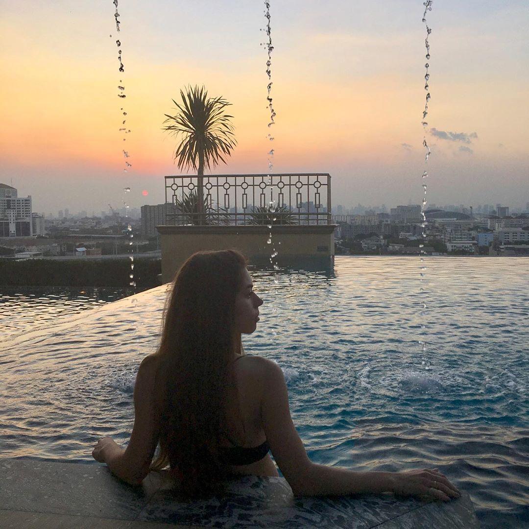 Работа, я тебя люблю . . . #thailand #bangkok #travel #travelling #exploretheworld #crewlife #crewlifestyle #cabincrew #ilovemyjob #sunset #тайланд #бангкок