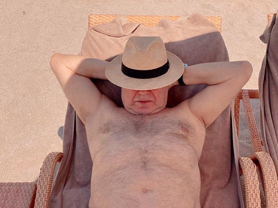 Вот я и на пляже!