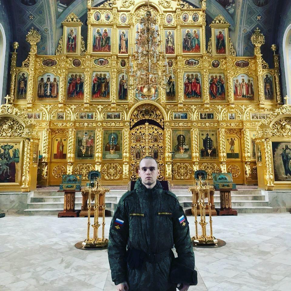 Сыночек! Спасибо тебе, что ты пошел в Храм помолиться за всех православных и за меня!