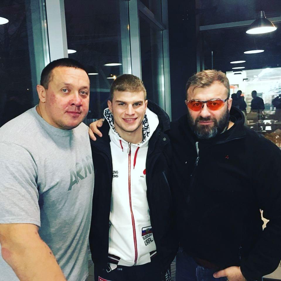 Вчера, на тренировке с сыном Вовкой и Мишаней Кокляевым
