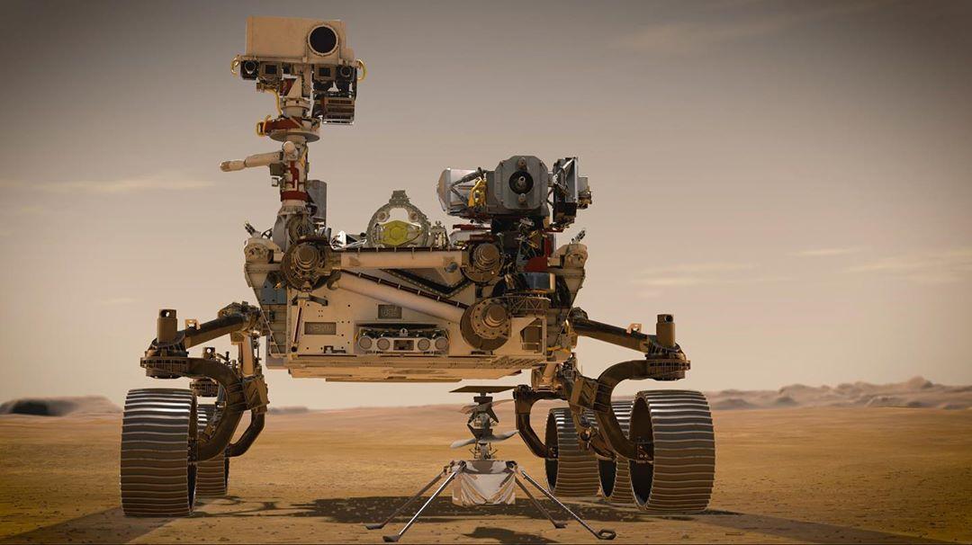 NASA отправляет на Марс аппарат Perseverance