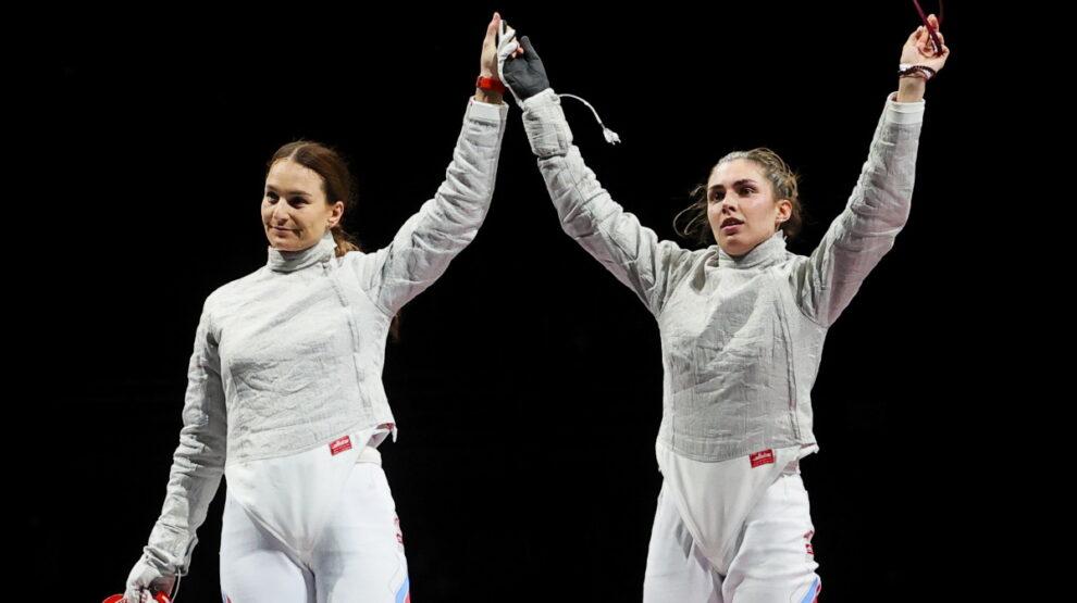 София Позднякова - Софья Великая - фехтование - Олимпиада Токио
