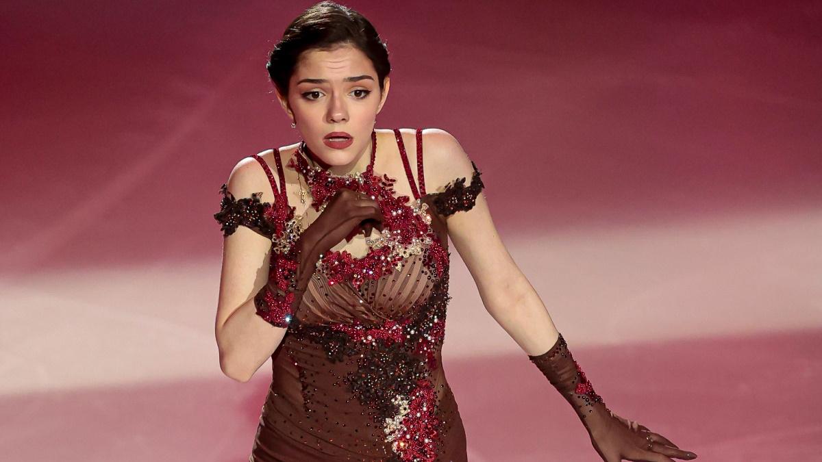 Евгения Медведева стала участницей ледового шоу «Ледниковый период». Фото: Global Press Look