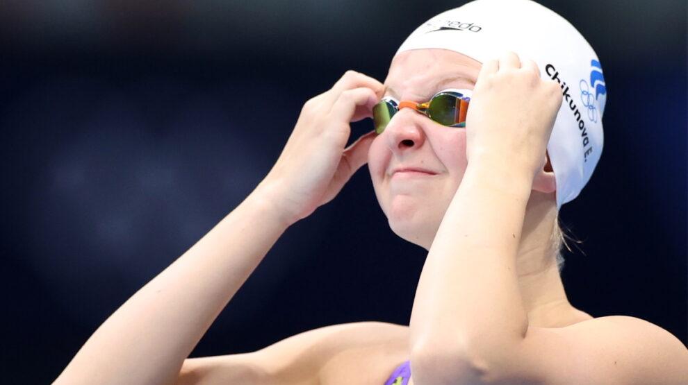 Евгения Чикунова - плавание - Олимпиада