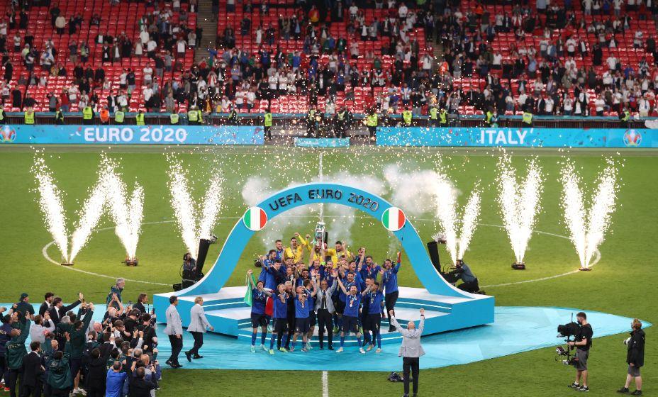 Сборная Италии стала лучшей национальной командой Европы! Фото: Reuters