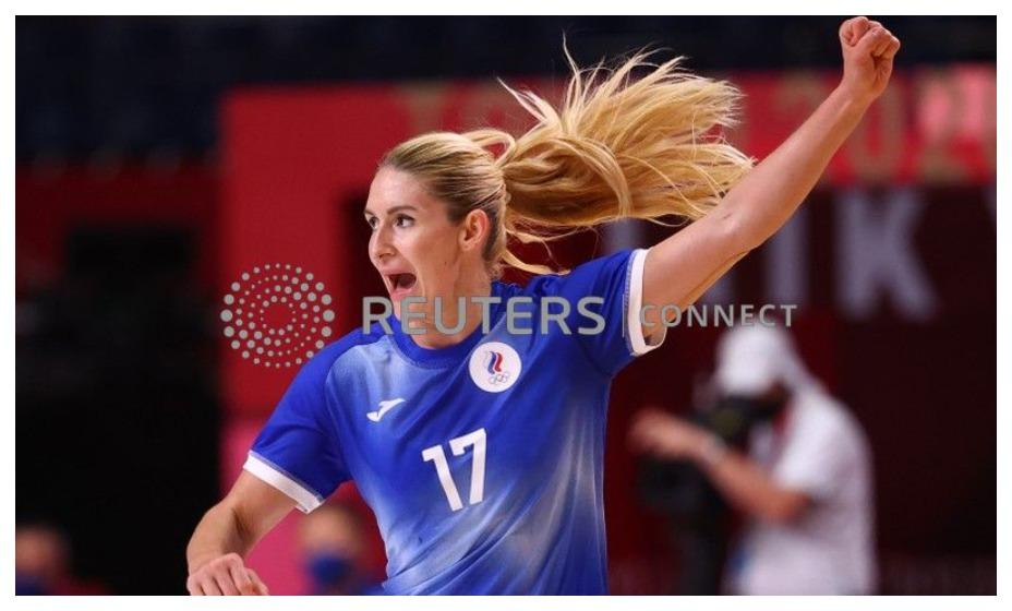 Гандболистка сборной России Владлена Бобровникова рассказала об атмосфере в команде на Играх-2020. Фото: Reuters