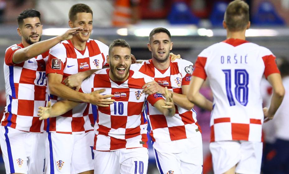 Никола Влашич помог сборной Хорватии победить словенцев. Фото: Reuters