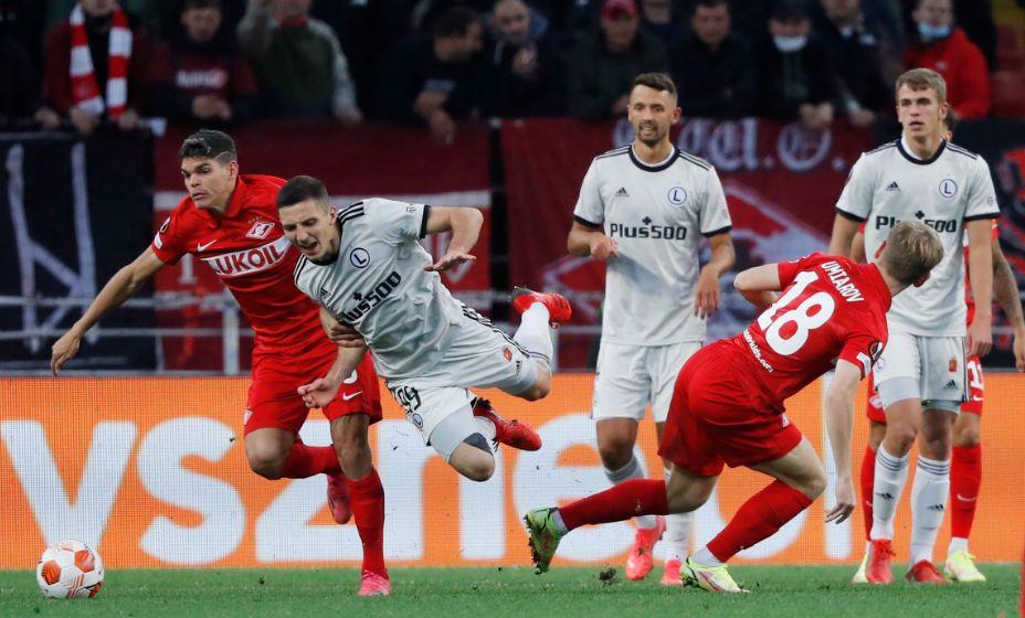 «Легия» испортила «Спартаку» настроение в стартовом матче Лиги Европы. Фото: Reuters
