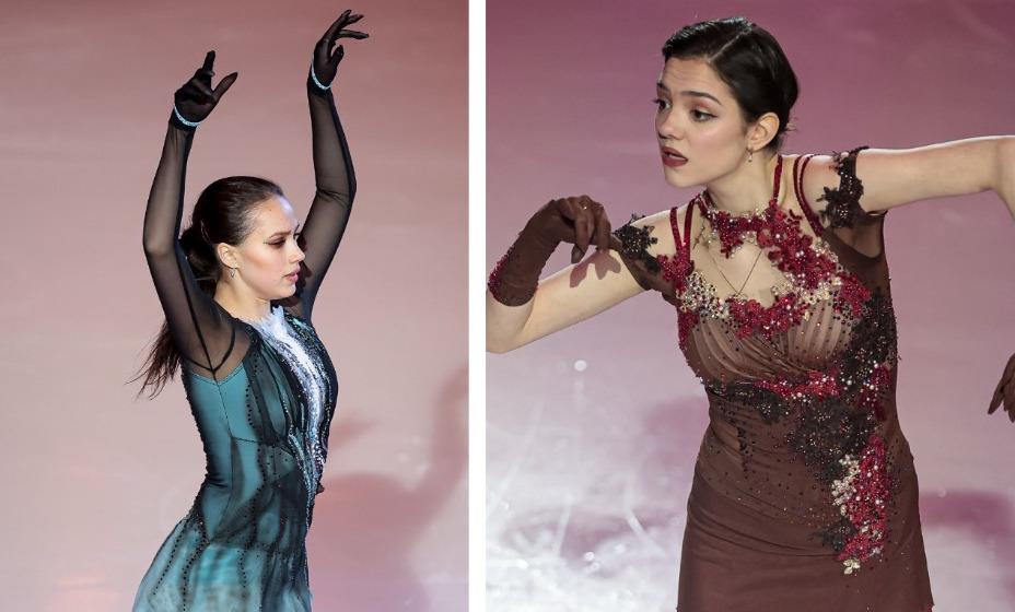 Загитова и Медведева выступят на шоу «Влюбленные в фигурное катание» в Москве. Фото: Global Press Look